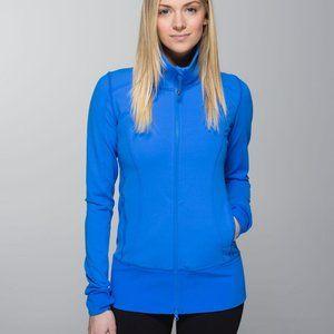 Lululemon Nice Asana Jacket-Pipe Dream Blue